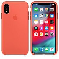 Чехол Silicone Case OEM for Apple iPhone XR Nectarine