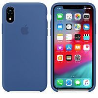 Чехол Silicone Case OEM for Apple iPhone XR Delft Blue