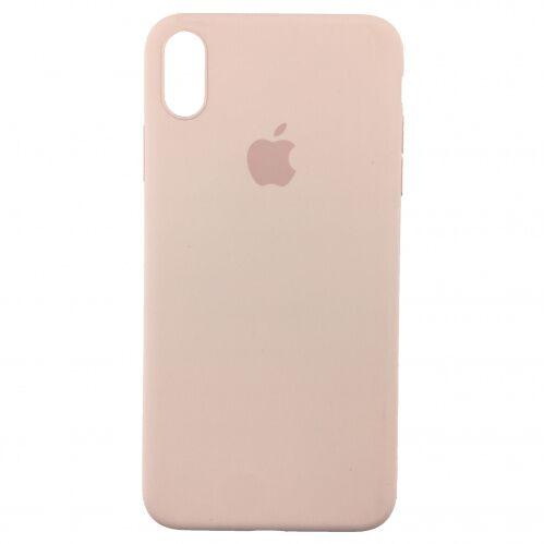 Чехол накладка xCase для iPhone X Silicone Slim Case Pink Sand Фото 1