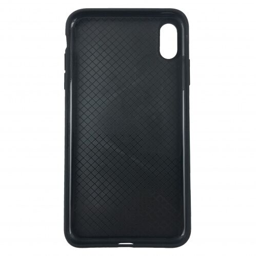 Чехол накладка xCase для iPhone X Silicone Slim Case Black: фото 2 - UkrApple