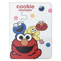 "Чехол Slim Case для iPad 9,7"" (2017/2018) Cookie Monster white"