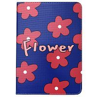 "Чехол Slim Case для iPad 9,7"" (2017/2018) Flowers blue"