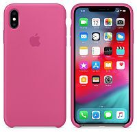 Чехол Silicone Case OEM for Apple iPhone X/XS Dragon Fruit