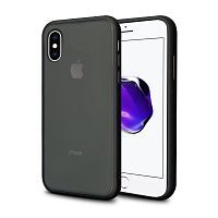 Чехол накладка xCase для iPhone XS Max Gingle series black