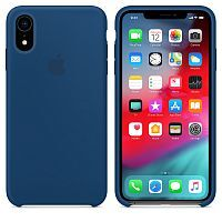 Чехол Silicone Case OEM for Apple iPhone XR Blue Horizon