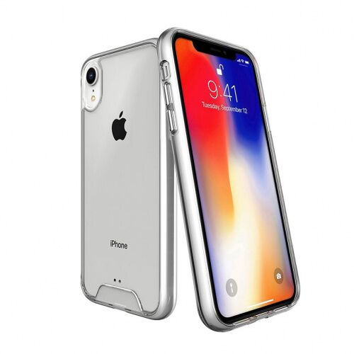 Чехол накладка Space на iPhone XR Transparent