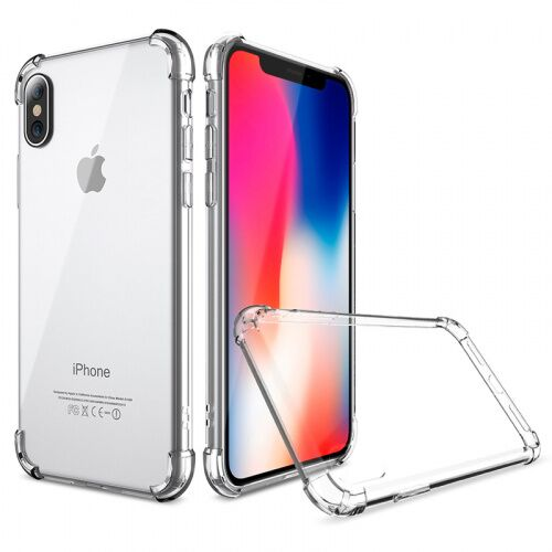 Чехол накладка xCase на iPhone XS Max Transparent corners - UkrApple