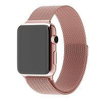 Ремешок xCase для Apple watch 38/40 mm Milanese Loop Metal Rose Gold (розовое золото)
