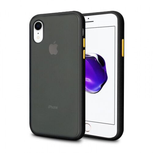 Чехол накладка xCase для iPhone XR Gingle series black yellow - UkrApple