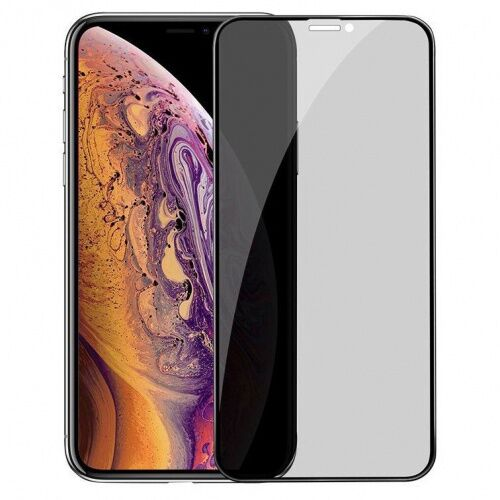 Защитное стекло  для iPhone 11 Pro Max/XS Max Privacy Антишпион тех.упак. - UkrApple