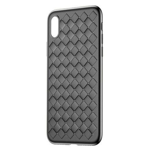 Чехол накладка Baseus для iPhone XR Weaving Case black