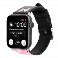 Ремешок xCase для Apple watch 38/40 mm Leather Classic Minnie pink
