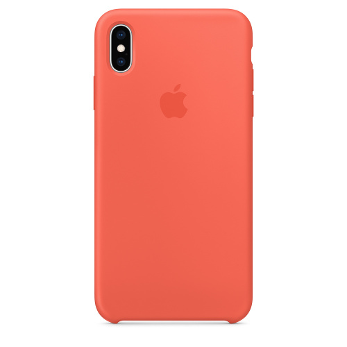 Чехол Silicone Case OEM for Apple iPhone XS Max Nectarine: фото 2 - UkrApple