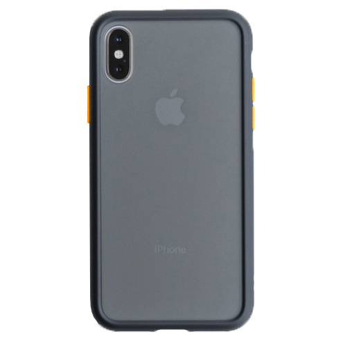 Чехол накладка Totu для iPhone XS Max Gingle series black yellow - UkrApple