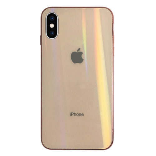 Чехол накладка xCase на iPhone XS Max Glass polaris Case Logo rose gold - UkrApple