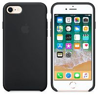 Чехол Silicone Case OEM for Apple iPhone 7/8/SE 2020 Black