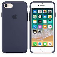 Чехол Silicone Case OEM for Apple iPhone 7/8/SE 2020 Midnight Blue (MQGM2)