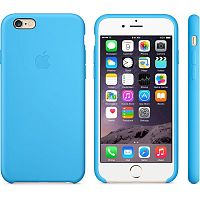 Чехол OEM for Apple iPhone 6/6s Silicone Case Blue (MGQJ2)