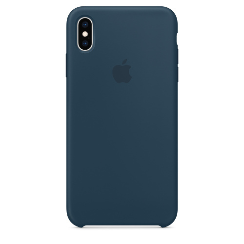 Чехол Silicone Case OEM for Apple iPhone XS Max Pacific Green: фото 2 - UkrApple