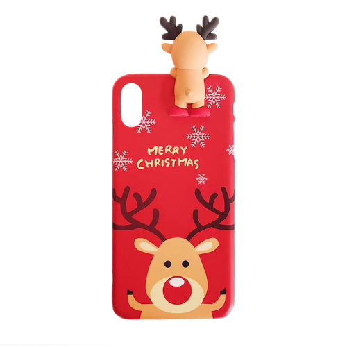 Чехол накладка xCase на iPhone XS Max Christmas Deer - UkrApple